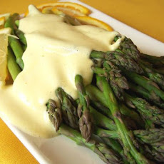 Spanish Tapas - Asparagus W/Orange and Lemon Sauce