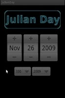 Screenshot of JulianDay