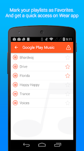 Music Playlists for Wear - screenshot