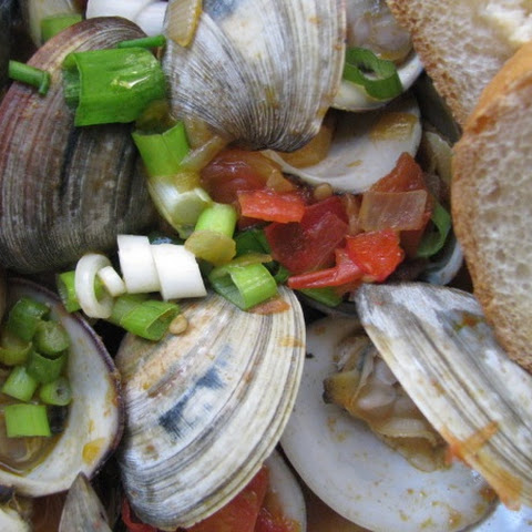 Clam and Chorizo Stew