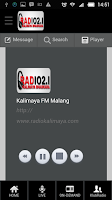 Screenshot of Kalimaya FM Malang