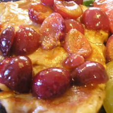 Chicken Breasts With Cherries and Port Wine