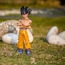 Goku by Ziz Abd Aziz - Artistic Objects Toys (  )