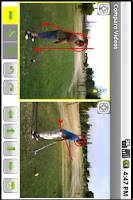 Screenshot of SwingGolfComparatorDemo