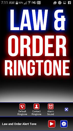 Law and Order Svu Ringtone - screenshot