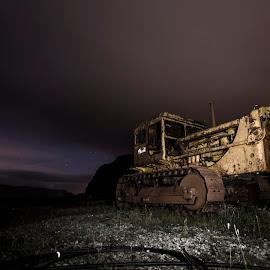 Abandoned mine by Aðalsteinn Grétarsson - Transportation Other