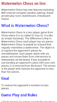 Screenshot of Watermelon Chess on line