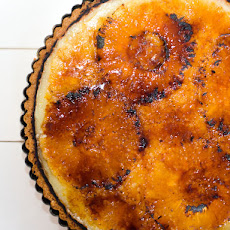 Bruleed Pineapple Tart