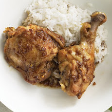 Chile-Garlic Chicken Legs