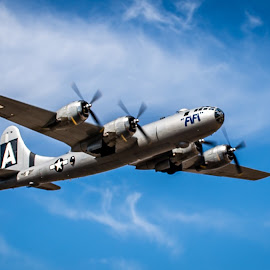 ~~B-29, the last one flying~~ by MiMi Paris - Transportation Airplanes ( fifi, plane, bombers, war )