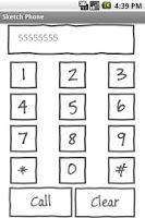 Screenshot of Sketch Phone Free