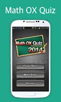 Screenshot of Math OX Quiz 2014