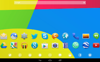 Screenshot of KitKat 4.4+ Launcher Theme
