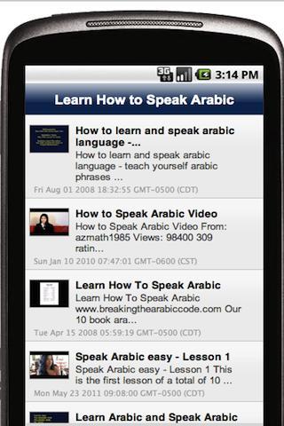 Learn How to Speak Arabic