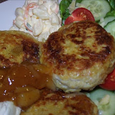 Chicken and Chickpea Patties