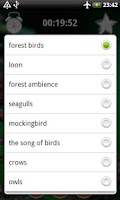 Screenshot of Birds Sounds Relax and Sleep