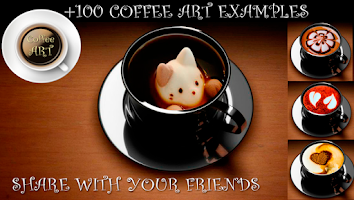 Screenshot of Coffee Art