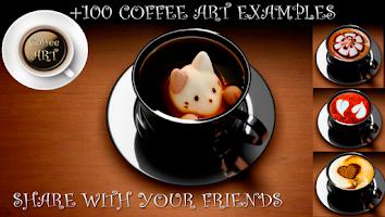 Screenshot of Coffee Art