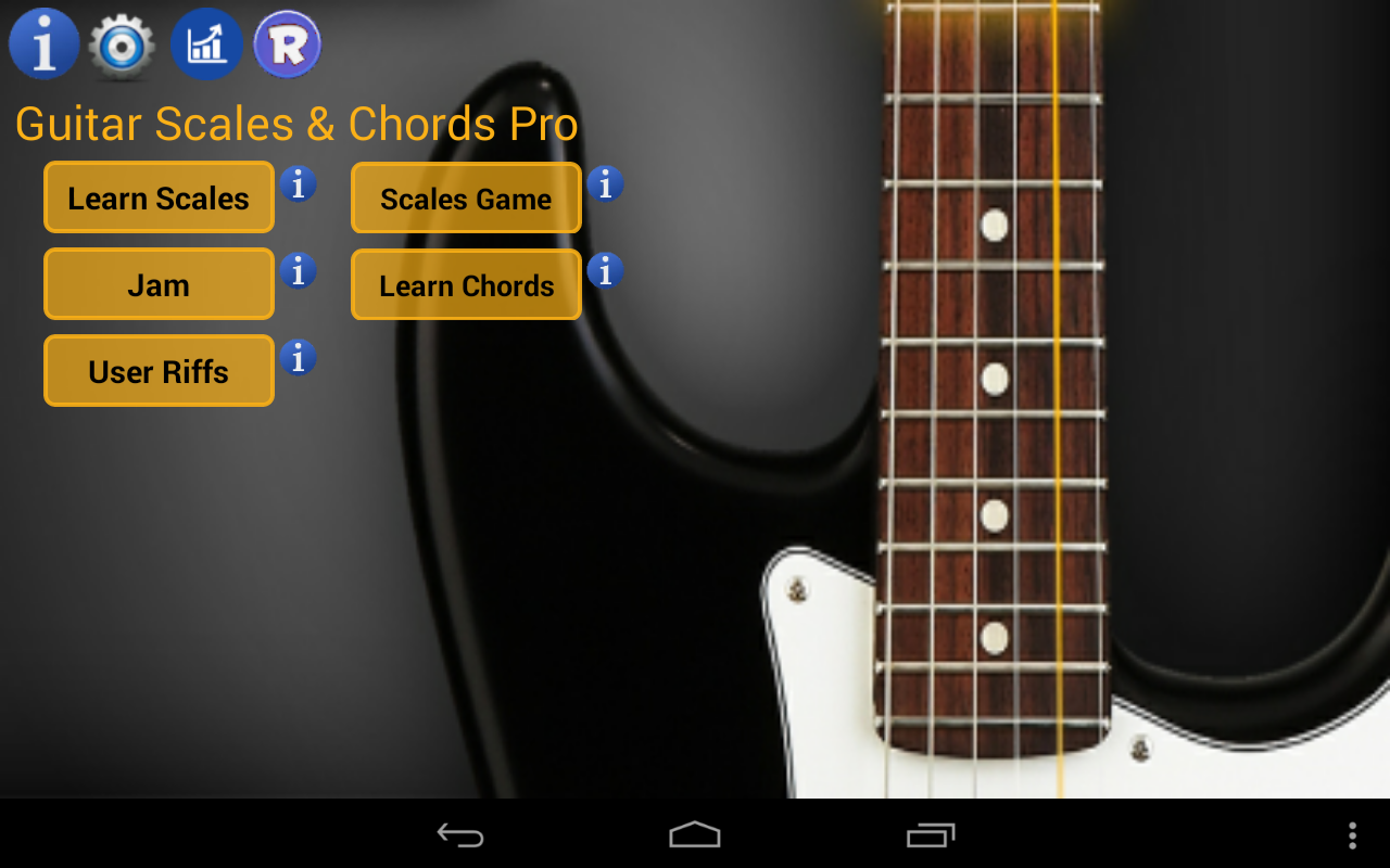 Guitar Scales & Chords Pro Screenshot 8