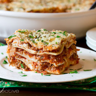 Homemade Lasagna Without Ricotta Cheese Recipes