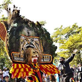 reog singa lodaya by Git Gitos - News & Events Entertainment ( real of indonesia, reog,  )