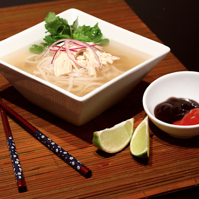 Quick Vietnamese Chicken Pho