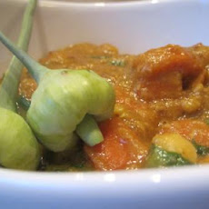 Sweet & Spicy Curry Veg