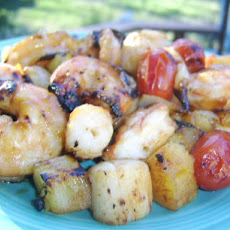 Aussie Prawn and Scallop Skewers
