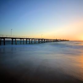 Port Noarlunga by Budiyanto Dwi Prasetyo - Landscapes Sunsets & Sunrises