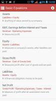 Screenshot of Financial Ratios(Accounts)