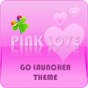 GO Launcher ex Theme Pink Love icon