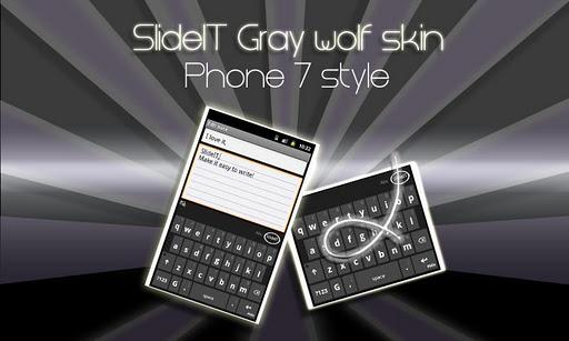 SlideIT Gray Wolf Skin