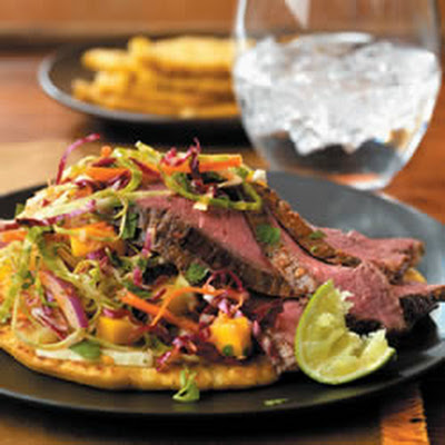 Beef Pupusas and Curtido Slaw