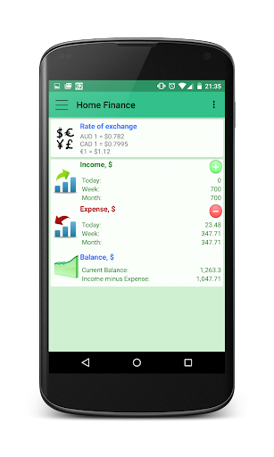 Home Finance - screenshot