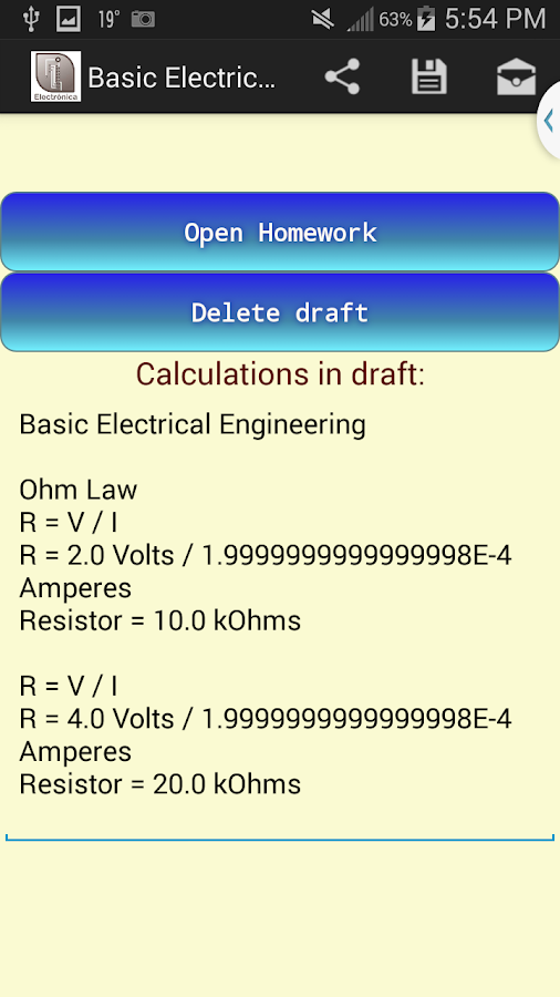 Electrical Engineering Premium Screenshot 2