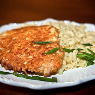 Chicken Breast in Cheese Crust