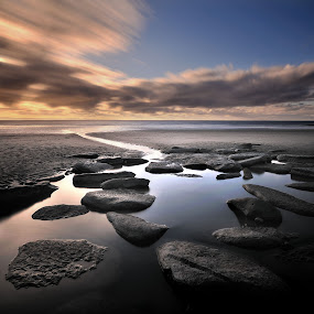 Dunraven, Wales by Nick Holland - Landscapes Waterscapes