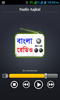 Screenshot of Bangla Radio