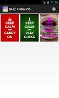 Screenshot of Keep Calm Pro
