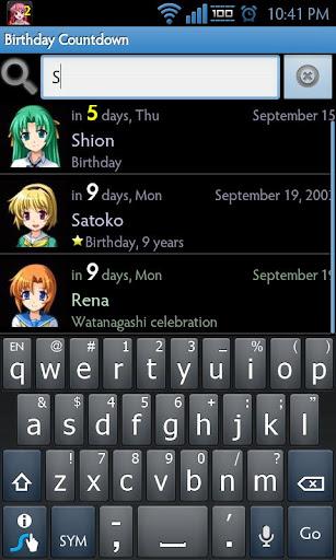 【免費個人化App】Birthday Countdown-APP點子