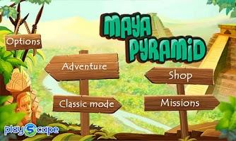 Screenshot of Maya Pyramid