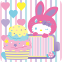 HELLO KITTY Battery Widget3 icon