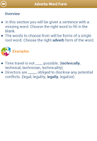 Screenshot of Grammar Up Lite