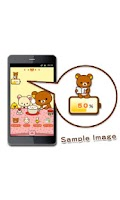 Screenshot of Rilakkuma Battery Widget 4