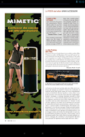Screenshot of Armi e Tiro magazine