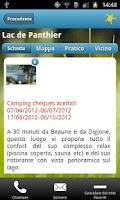 Screenshot of Guida Camping Cheque
