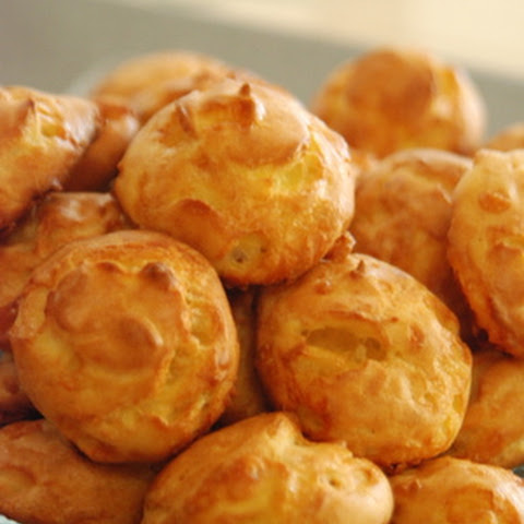 Perfect Party Cheese Puffs (Gougères)