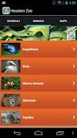 Screenshot of Houston Zoo