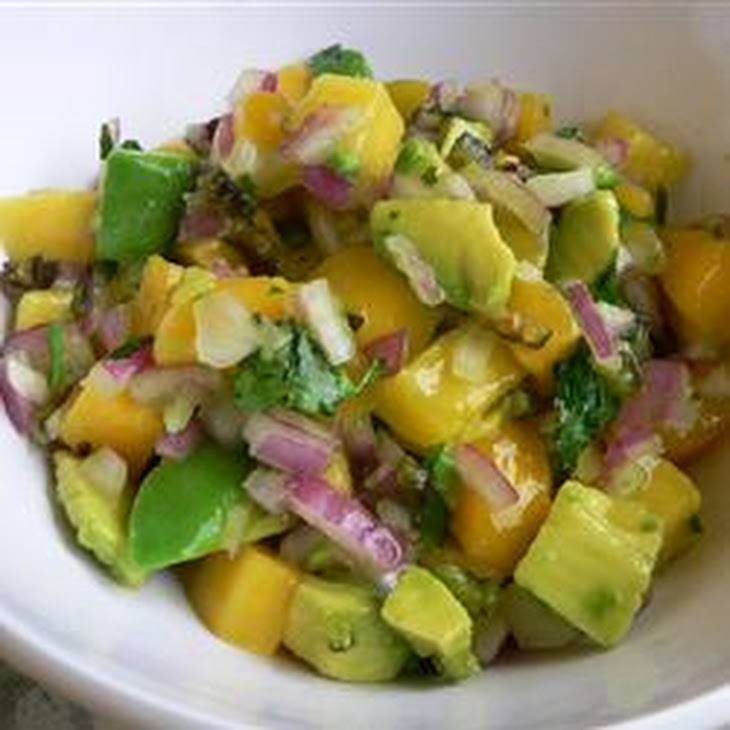 Avocado Mango Salsa Recipe | Yummly