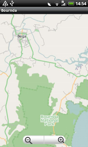 Bournda National Park Map
